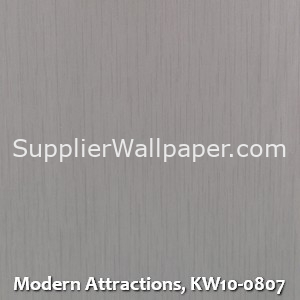 Modern Attractions, KW10-0807