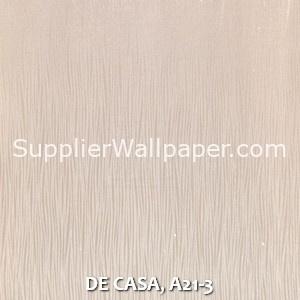 DE CASA, A21-3