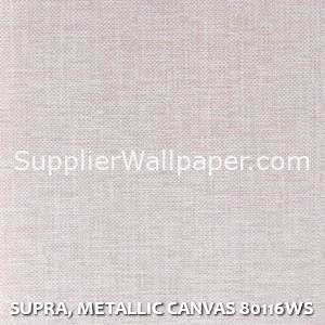 SUPRA, METALLIC CANVAS 80116WS