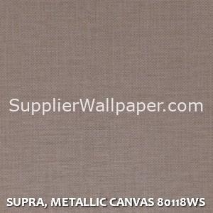 SUPRA, METALLIC CANVAS 80118WS
