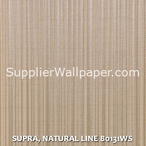 SUPRA, NATURAL LINE 80131WS