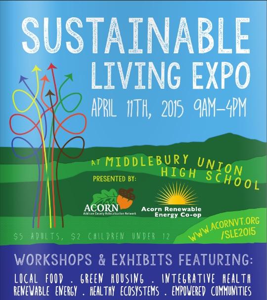 ACORN Sustainable Living Expo 2015