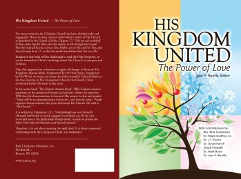 His Kingdom United - the Power of Love