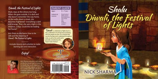 Shalu, Dewali Festival of Lights by Nick Sharma