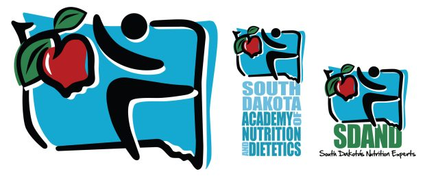 South Dakota Academy of Nutrition and Dietetics Logo Design