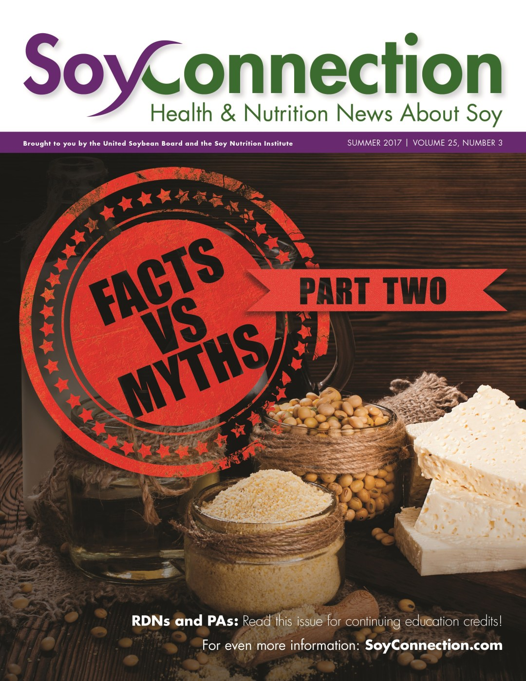 Soy Connection Myths vs. Facts Part Two