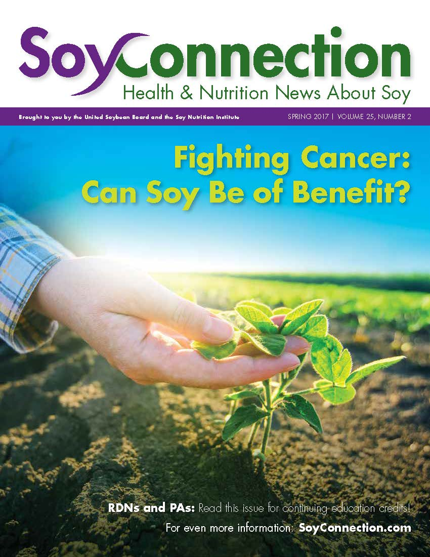 Soy Connection Fighting Cancer: Can Soy Be of Benefit?