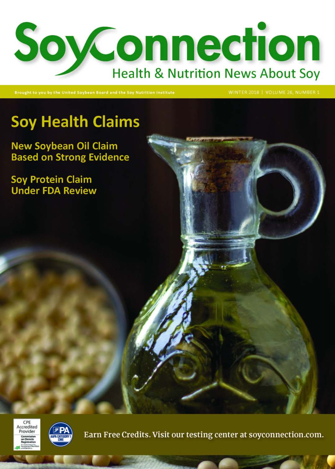 Soy Connection Soy Health Claims
