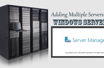 Add multiple Servers in Windows Server
