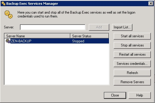 Veeam 7 Backup and Recovery - Missing Tape Device - Talking IT