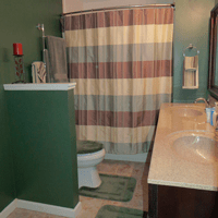 Painting Master Bath - The DIY Girl