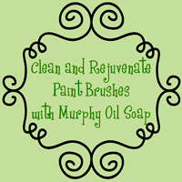 Cleaning paint brushes and rejuvenating them - The DIY Girl