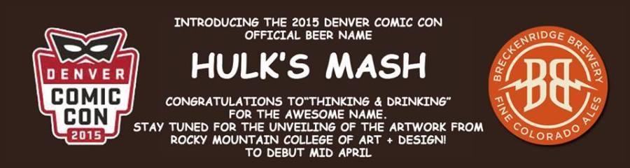 Thinking & Drinking - Denver Comic Con