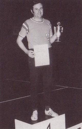 1. Stadtmeister 1972 Herren Aktive: Manfred Frank