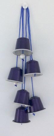 Cloches de pâques en capsules nespresso