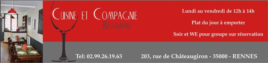 Galerie d'images - Restaurant Cuisine et Compagnie, Rennes - Google Chrome