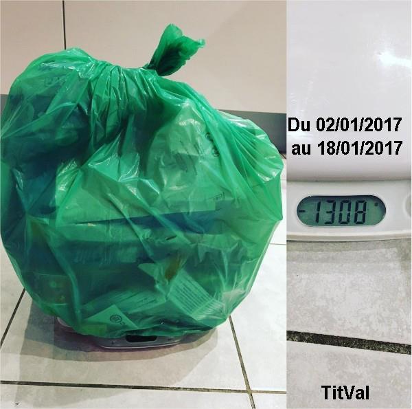 je pèse ma poubelle