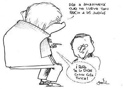 caricatura de Garrincha
