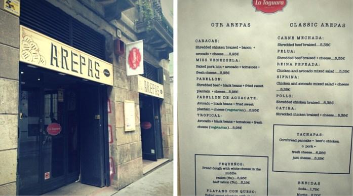 La Taragura, günstig Essen in Barcelona