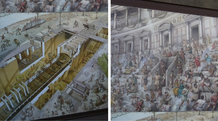 Colosseum Infographfic