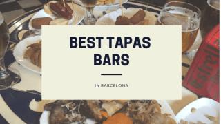 Beste Tapas Bars Barcelona