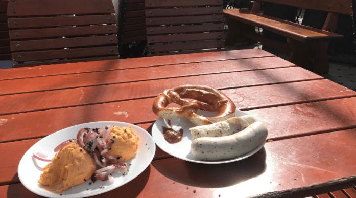 Weißwurst Frühstück