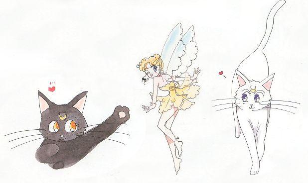 The Three Lunar Guardians – Luna, Diana, and Artemis