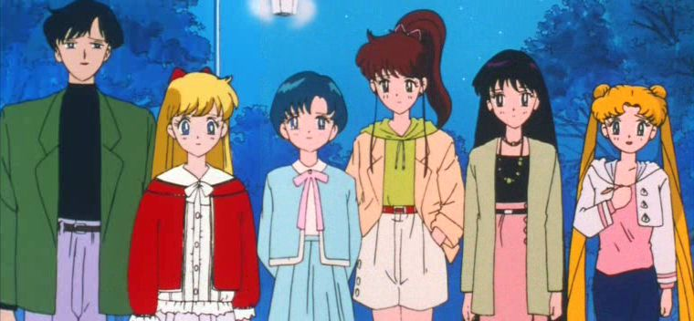 The Sailor Team Say Their Goodbyes