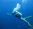 1st underwater photo of me SCUBA diving