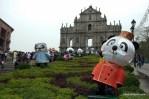 Ruins of the Church of St Paul in Macau