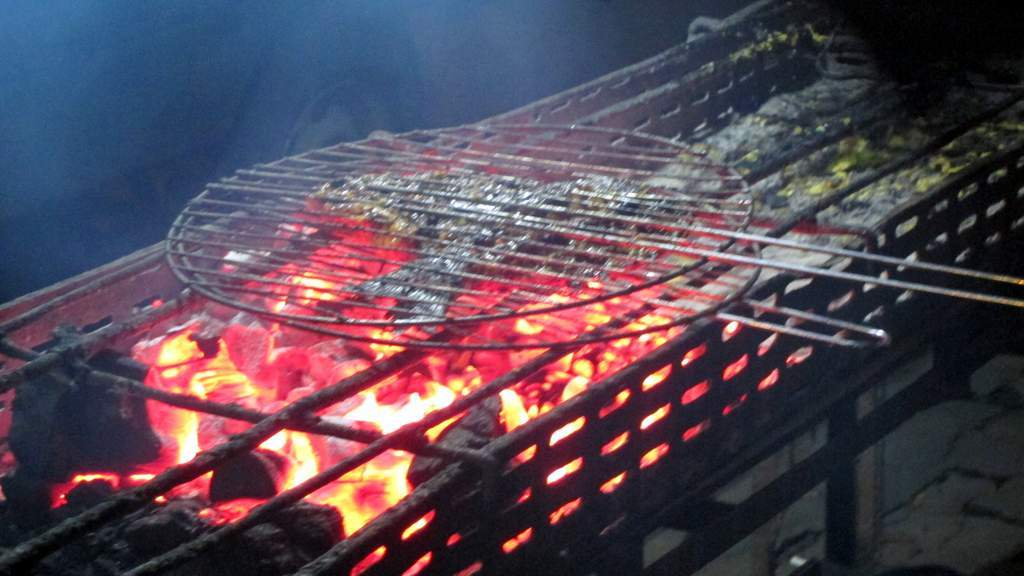 Indonesian BBQ grill - very different than the grills we use