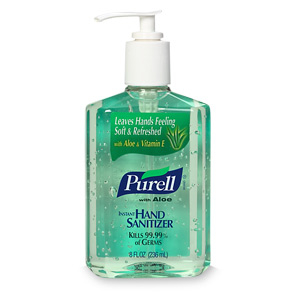 Purell from my Malaysia trip - you'll need LOTS of this