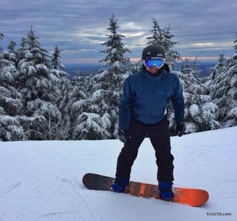 Shredding in Killington, Vermont. I love snowboarding!