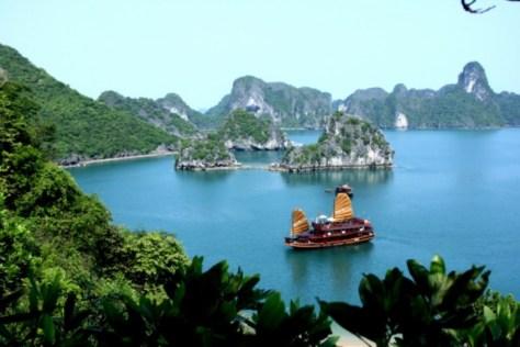 Halong Bay Vietnam travel adventure