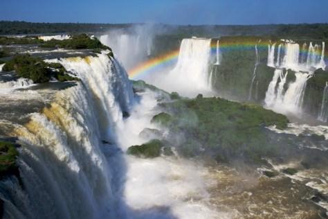 Iguazu Falls looks so impressive!