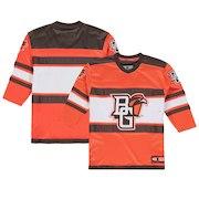 Bowling Green St. Falcons Colosseum Youth Open Net II Hockey Sweater Jersey - Orange