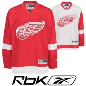 Detroit RedWings RBK Edge Authentic Hockey Jersey- Senior