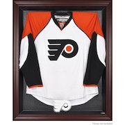Philadelphia Flyers Mahogany Framed Jersey Display Case
