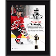 """Taylor Hall New Jersey Devils Fanatics Authentic 10.5"""" x 13"""" 2018 NHL Hart Trophy Winner Sublimated Plaque"""