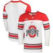Ohio State Buckeyes Nike Replica College Hockey Jersey - White
