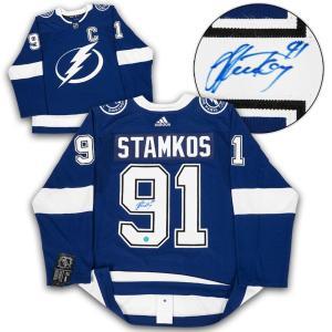Steven Stamkos Signed Jersey - Adidas