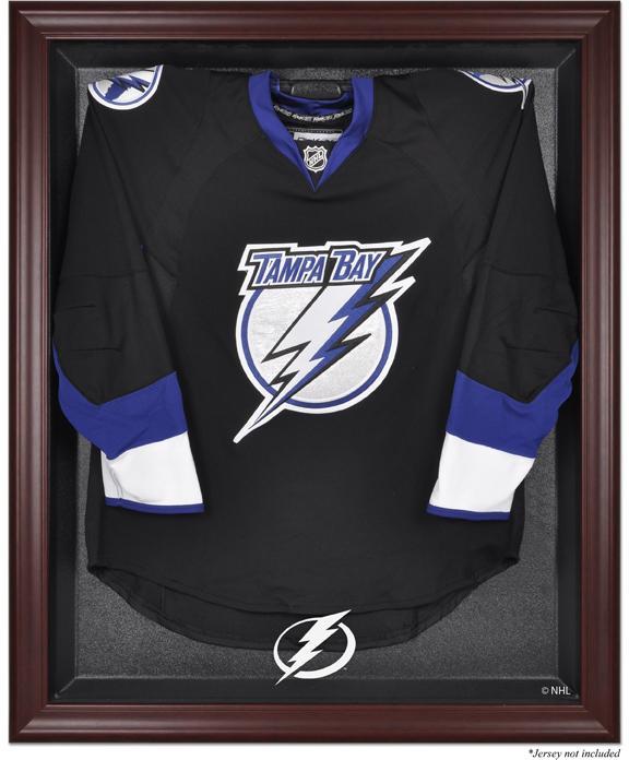 Tampa Bay Lightning Mahogany Jersey Display Case