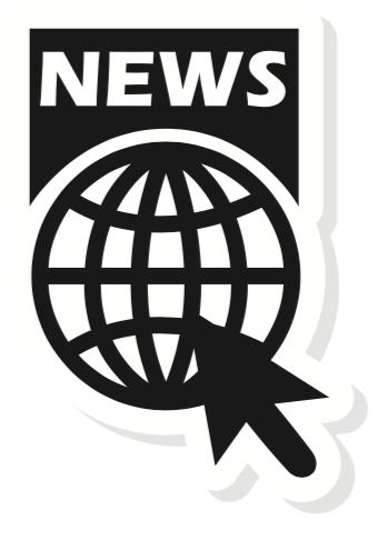 News, Click, Globe – small size