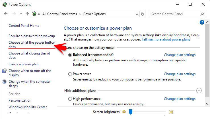 how to change sleep mode settings in windows 8