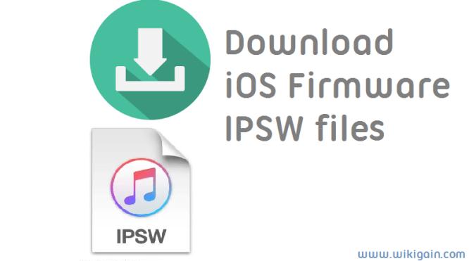 How to Download iOS firmware IPSW files