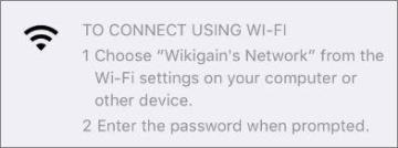 Enable wifi hotspot