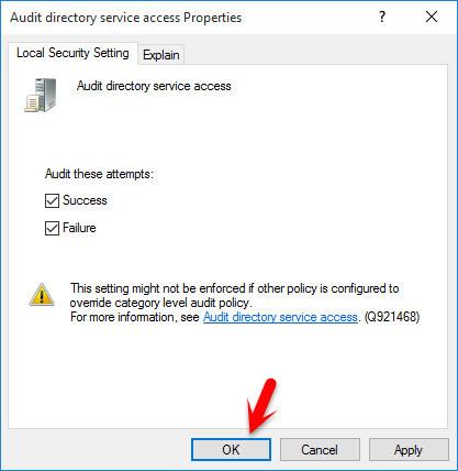 Audit Directory Service Access