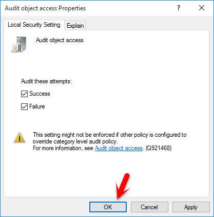 Audit Object Access