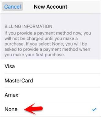Billing Information