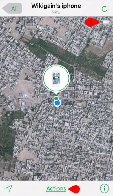 how to use find my phone on iphone